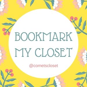 Bookmark my closet!!!!